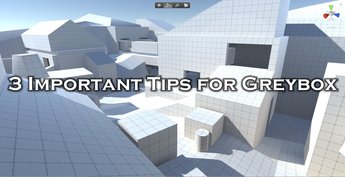 3 IMPORTANT Tips for Greybox Level Design Icon