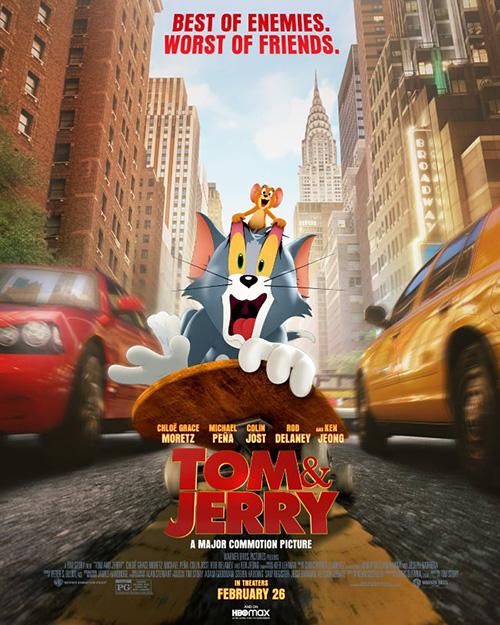 Tom ve Jerry | 2021 | m720p - m1080p | BluRay | Türkçe Altyazılı | Tek Link