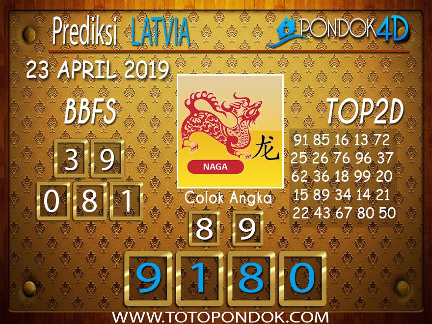 Prediksi Togel LATVIA PONDOK4D 23 APRIL 2019