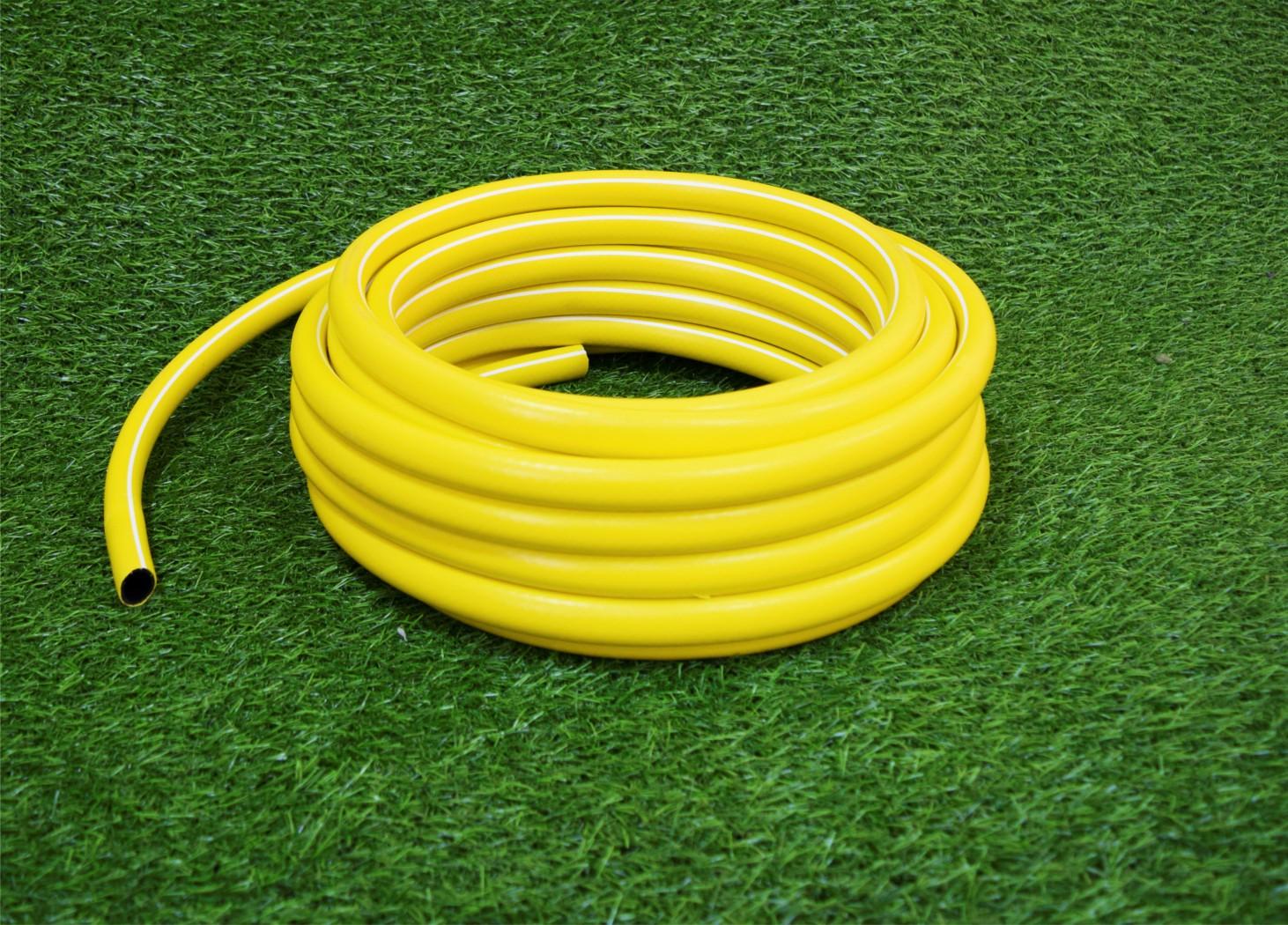 Шланг садовый поливной d 16 желтый