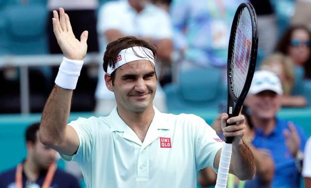 Лучшие удары Роджера Федерера в четвертом круге Мастерса в Майами (ВИДЕО)