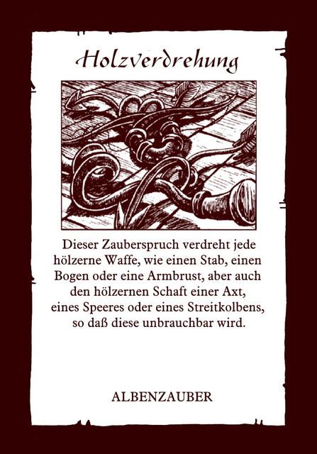 Albenzauber-Holzverdrehung
