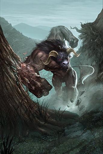 [DUNGEON - B] Kill of Tauros Rampaging-Minotaur