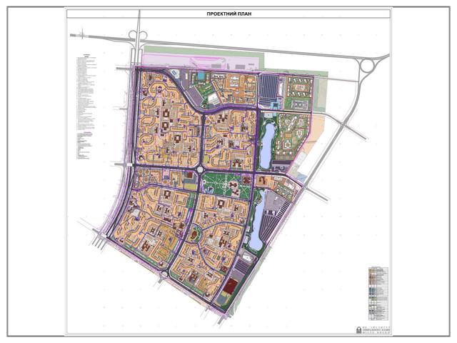 ДПТ Северной Троещины проектный план