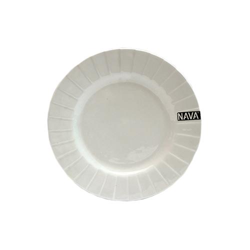 Nava თეფში ღრმა თეთრი დაწინწკლული 19 სმ 10-141-0735205746120486