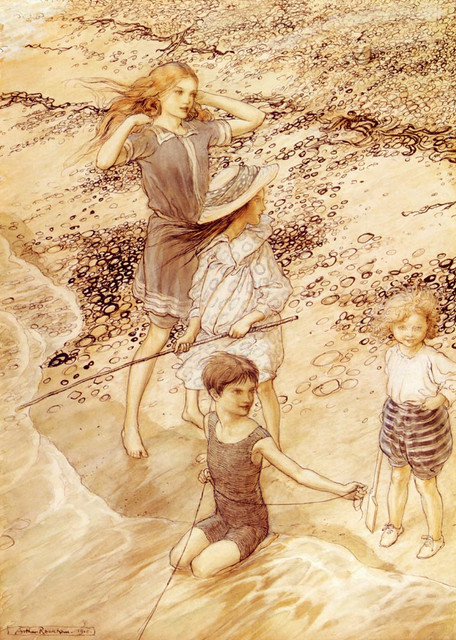 Rachkam-Arthur-Children-By-The-Sea