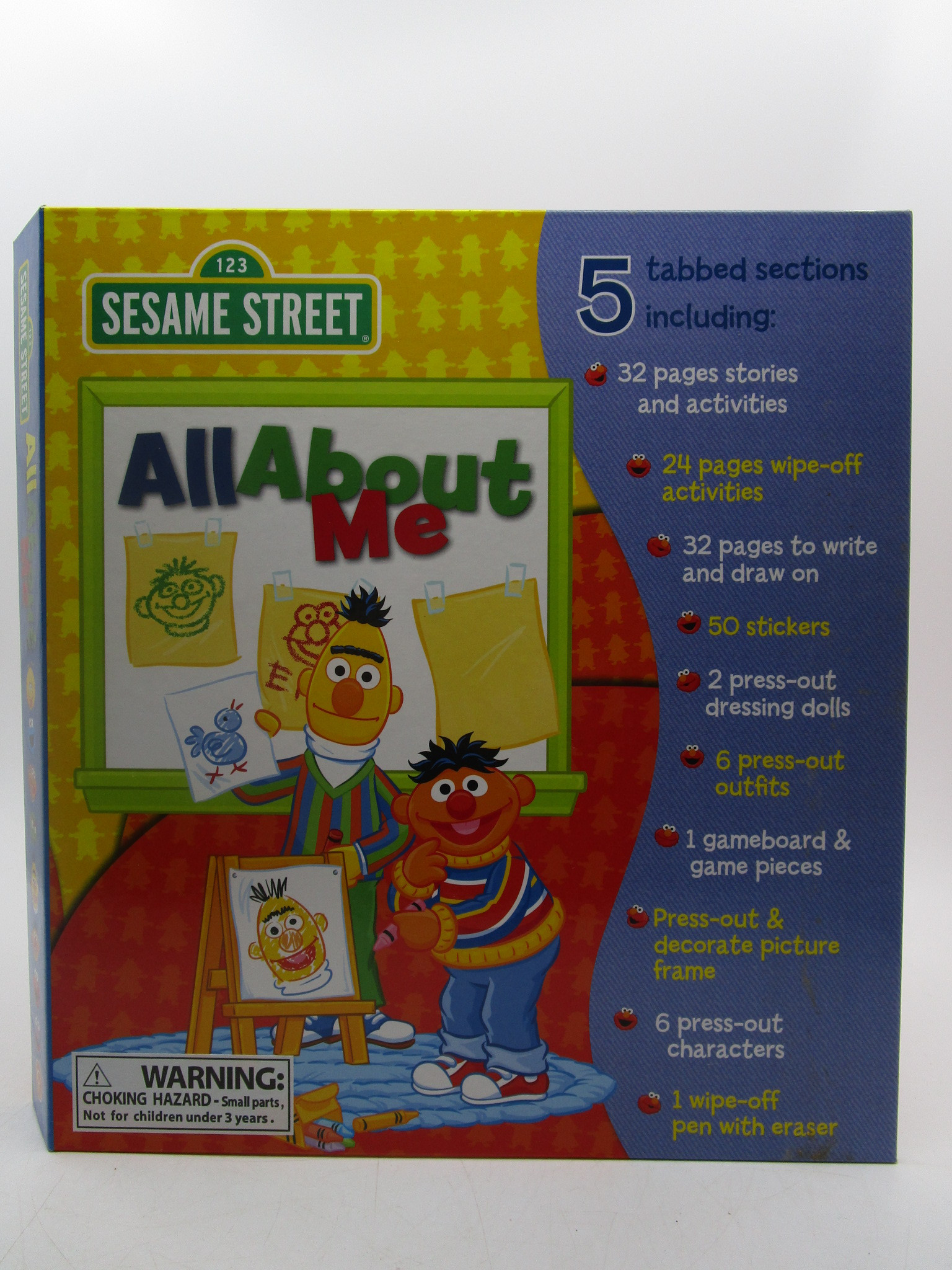 Image for All About Me (123 Sesame Street)