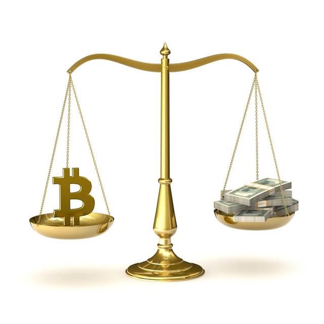 Превосходство биткоина над обычной валютой