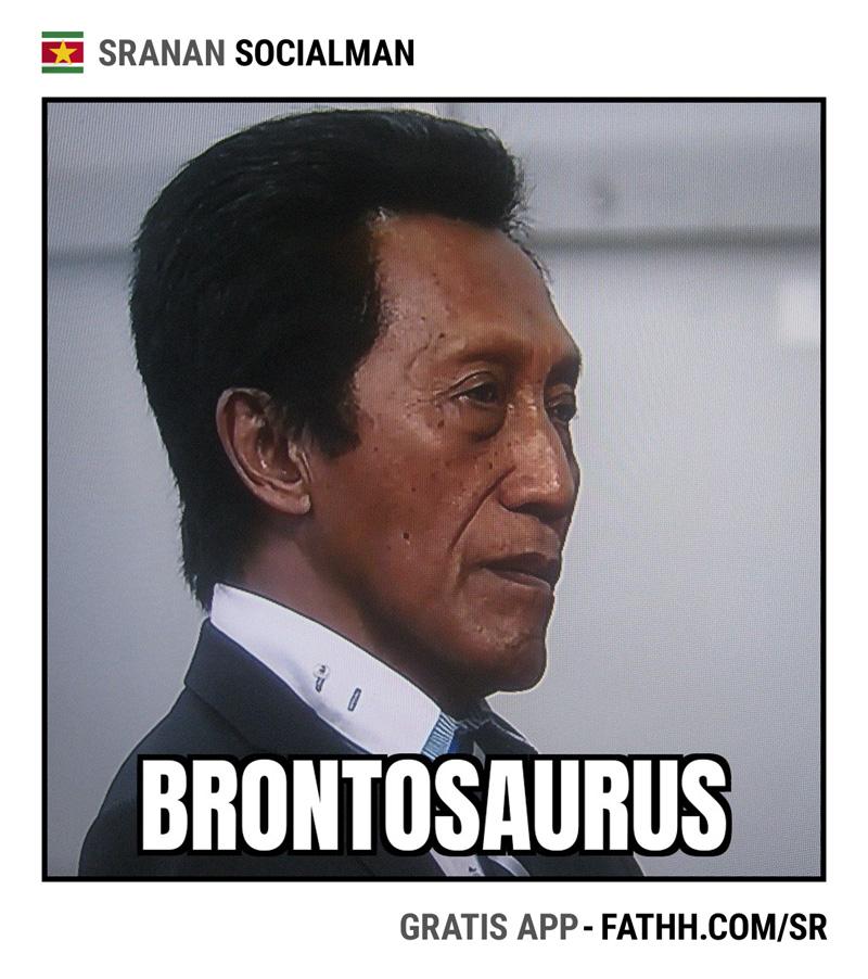 Sranan Socialman : Brontosaurus