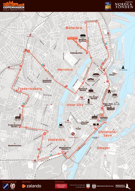 recorrido-medio-maraton-copenhague-travelmarathon-es