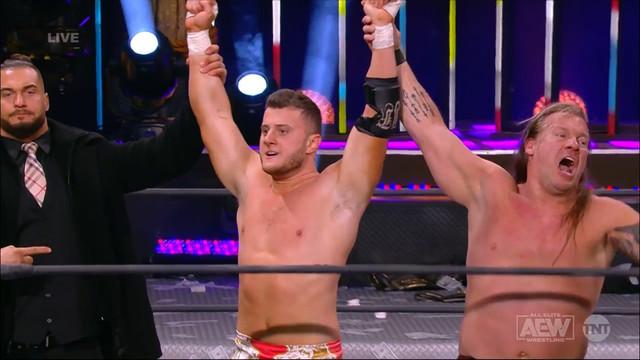 Chris Jericho y MJF se enfrentaran a Young Bucks por el Campeonato AEW 3 Febrero