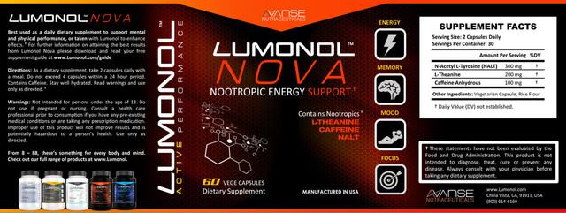 Lumultra Nova Review - Read Its Supplement Facts!