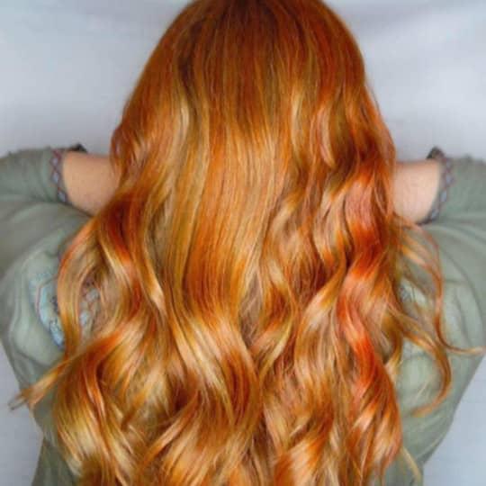 golden -hair-color