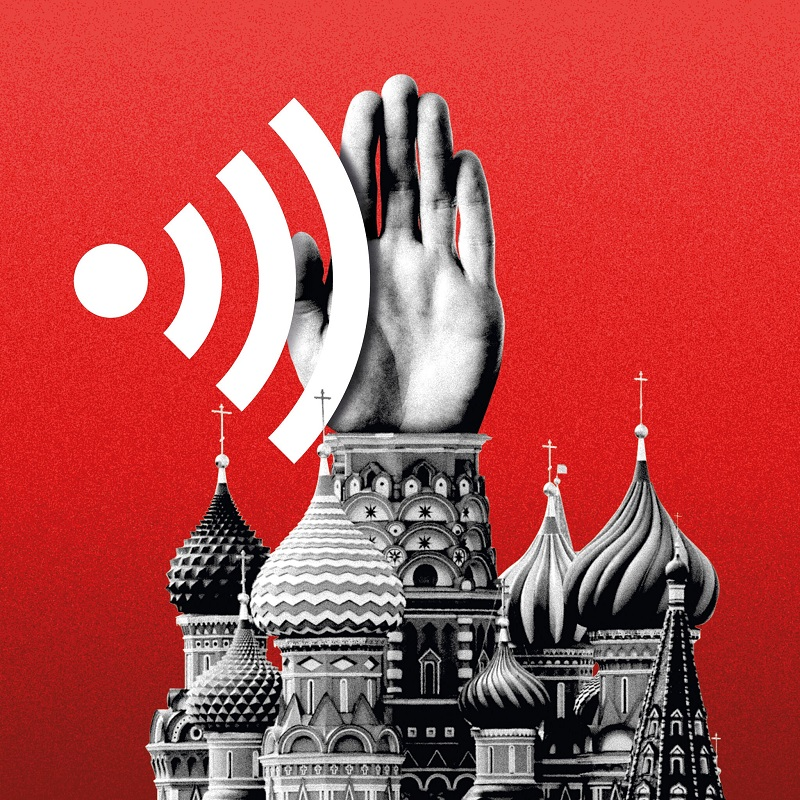Russia is Raising the Heat on Twitter, Google and Facebook by choking online