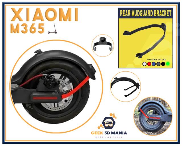 Xiaomi M365 mudguard led GLOW IN THE DARK Scooter trottinette garde-boue Bracket