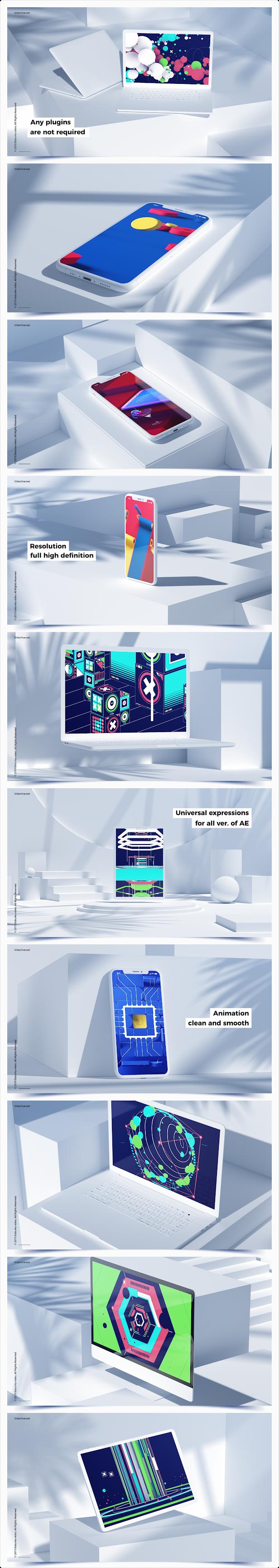 Devices Mockup // Geometric - 5