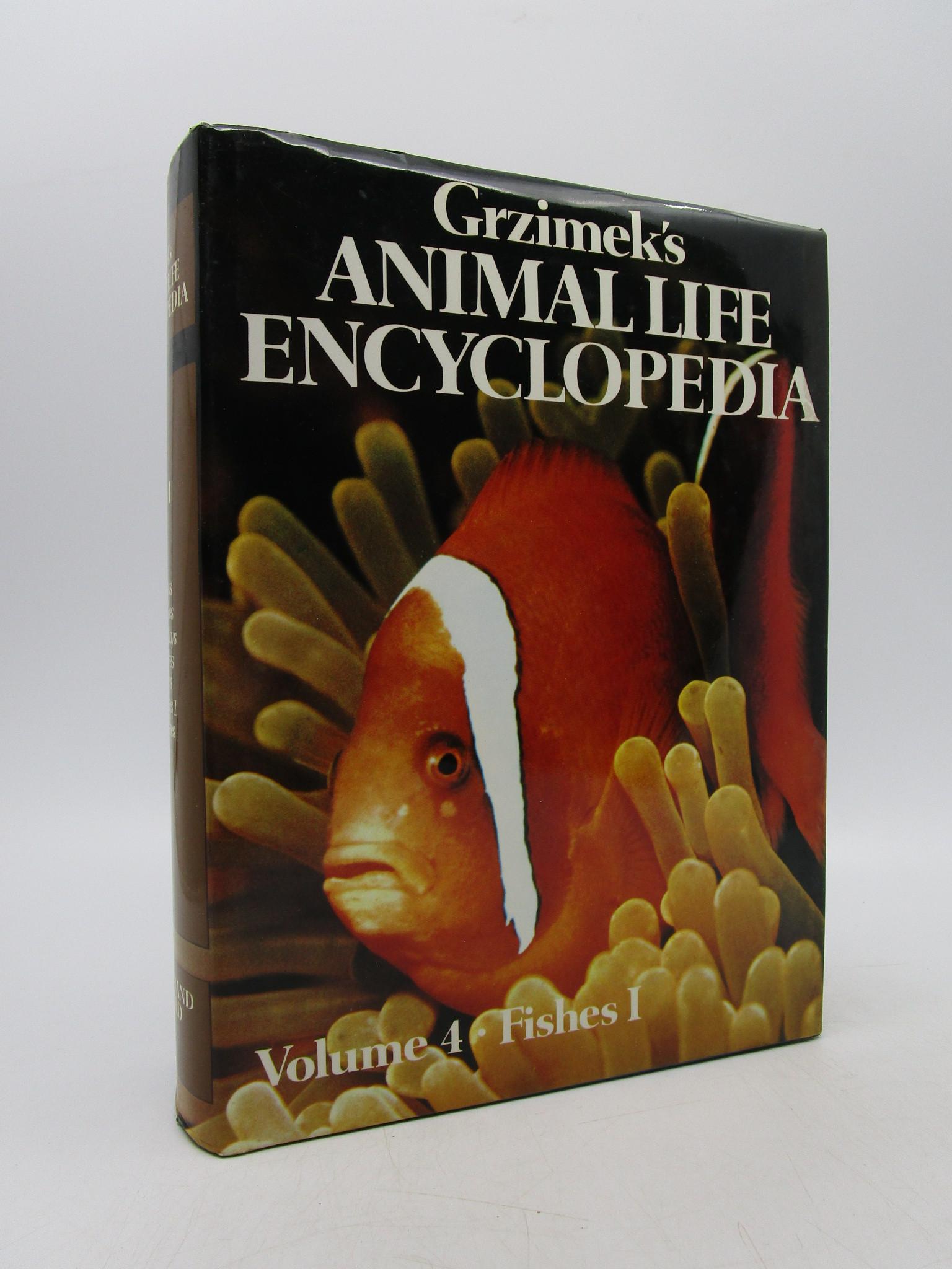Image for Grzimek's Animal Life Encyclopedia (Volume 4: Fishes I)