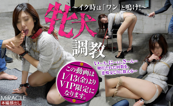 SM-Miracle_e0842 紀香 (のりか)「牝犬調教 ~イク時は「ワン」と鳴け!~」