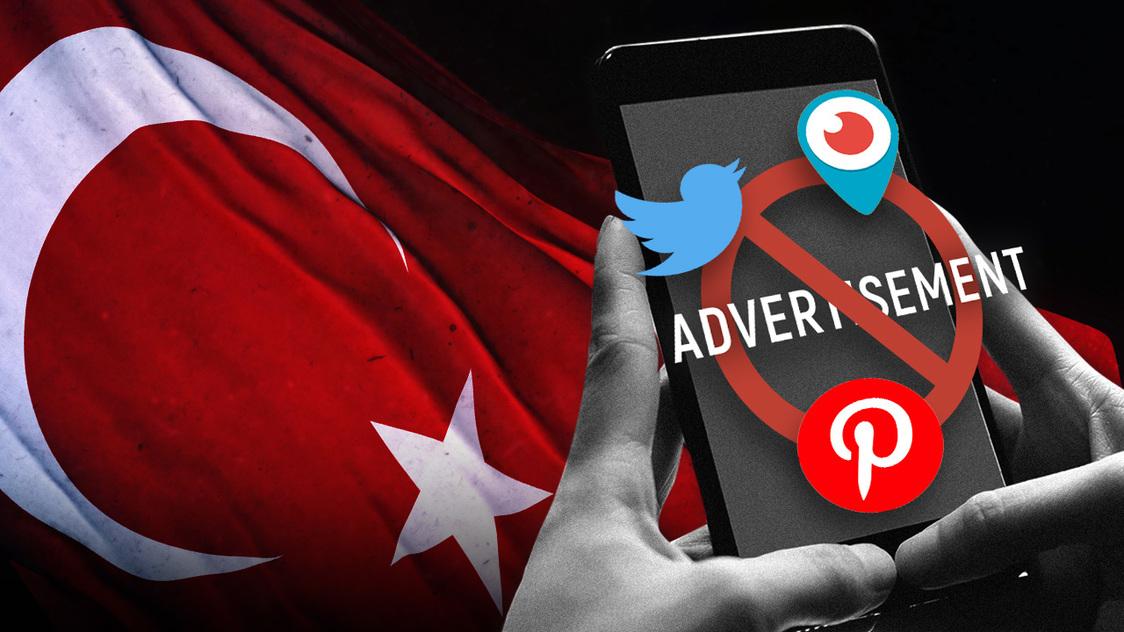 MORAJU PRVO OTVORITI PREDSTAVNIŠTVA U TURSKOJ: Turske vlasti zabranile Twitteru, Pinterestu i Periscopeu nove ugovore o oglašavanju