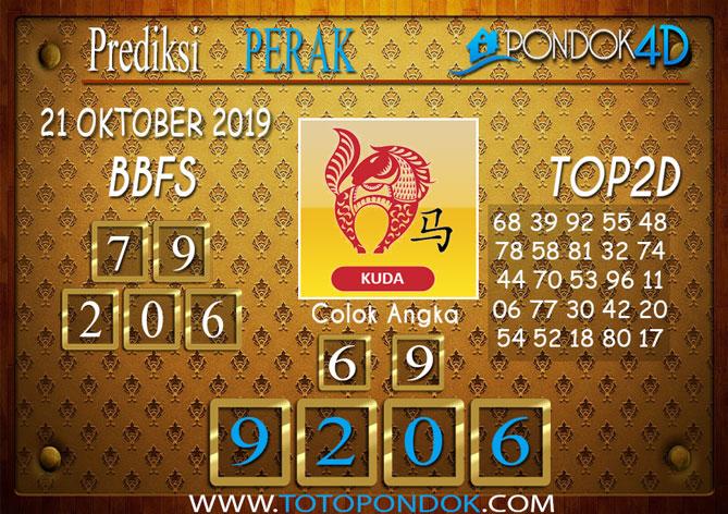 Prediksi Togel PERAK PONDOK4D 21 OKTOBER 2019