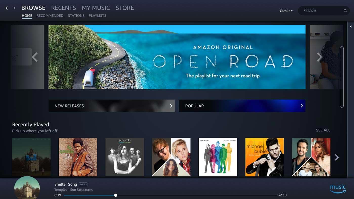 Amazon-Music-app-Windows-10-screenshot-0