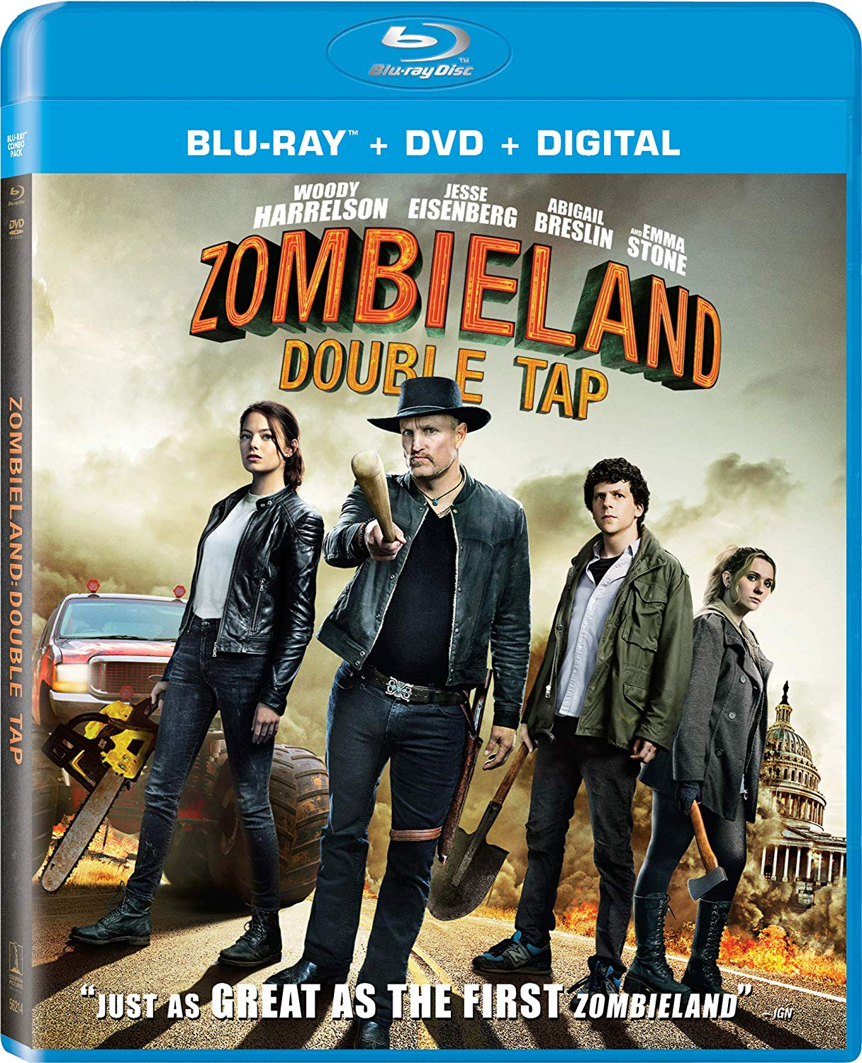 Zombieland Double Tap 2019 Hindi ORG Dual Audio 720p BluRay 950MB Download