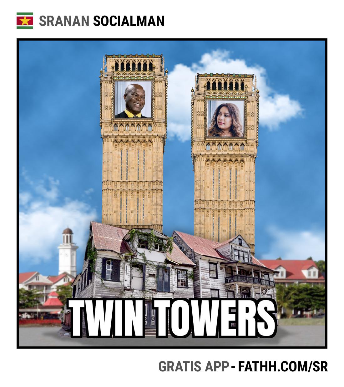 Sranan Socialman : Twin Towers