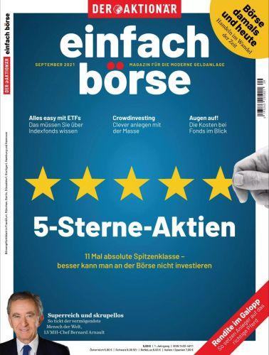 Cover: Einfach Börse Magazin No 09 September 2021