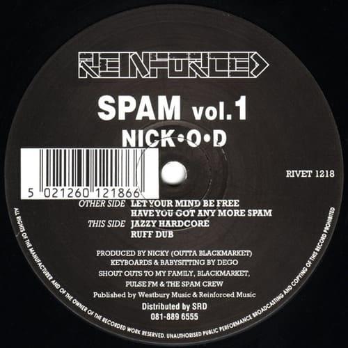 Download Nick-O-D - Spam Vol. 1 mp3