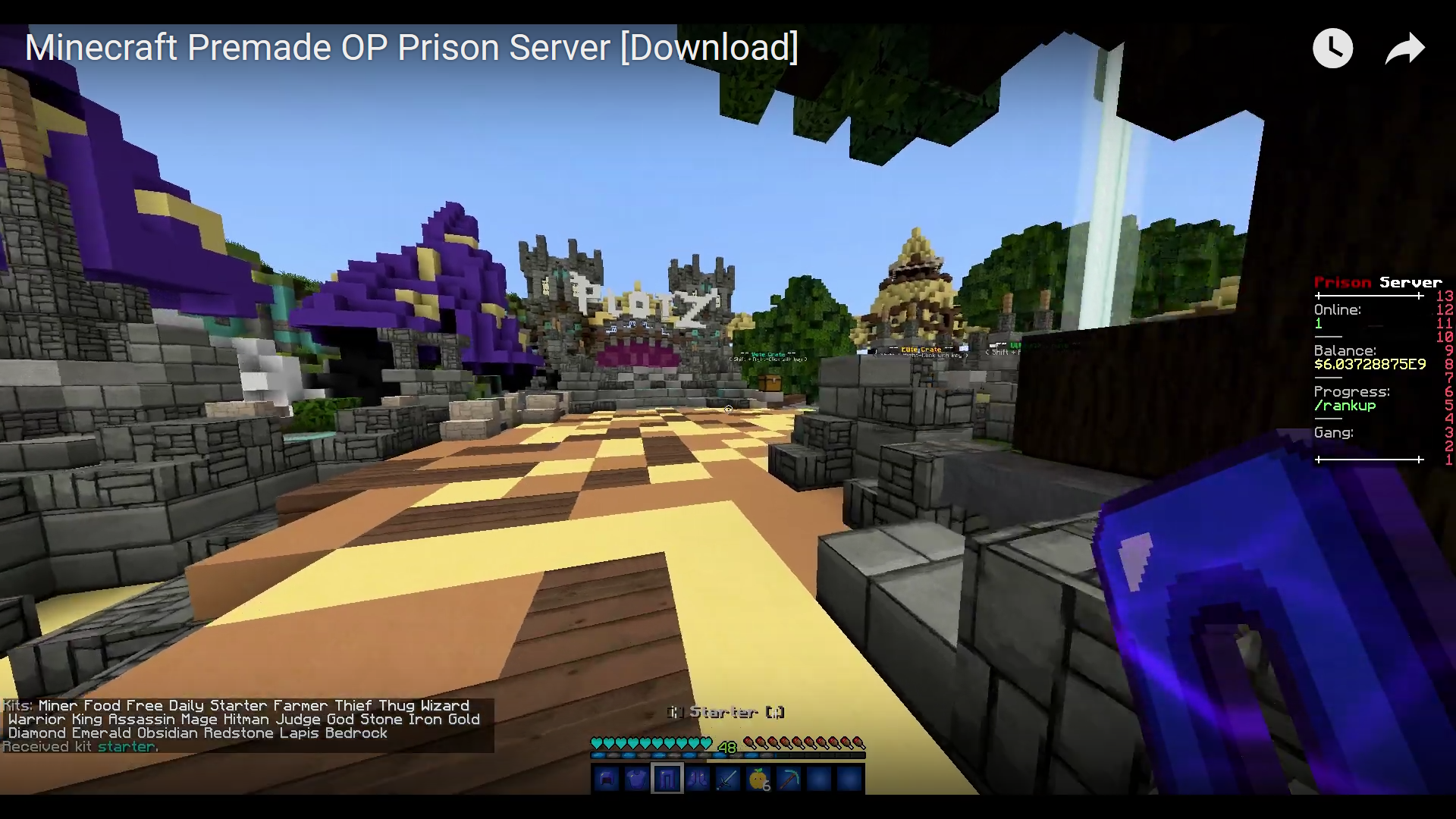 SERVER - Minecraft Premade OP Prison Server [Download] | BlackSpigotMC