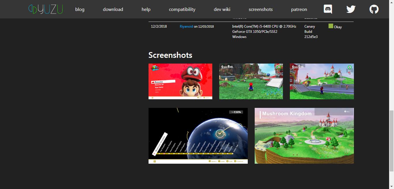 Yuzu-Update]Hướng dẫn Cấu hình chơi Super Mario Bros Odyssey