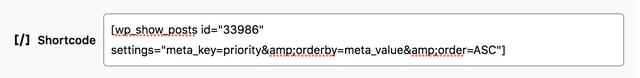 Ampersand-shortcode-encoded