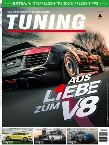 Cover: Tuning Automagazin No 04 August-September 2021