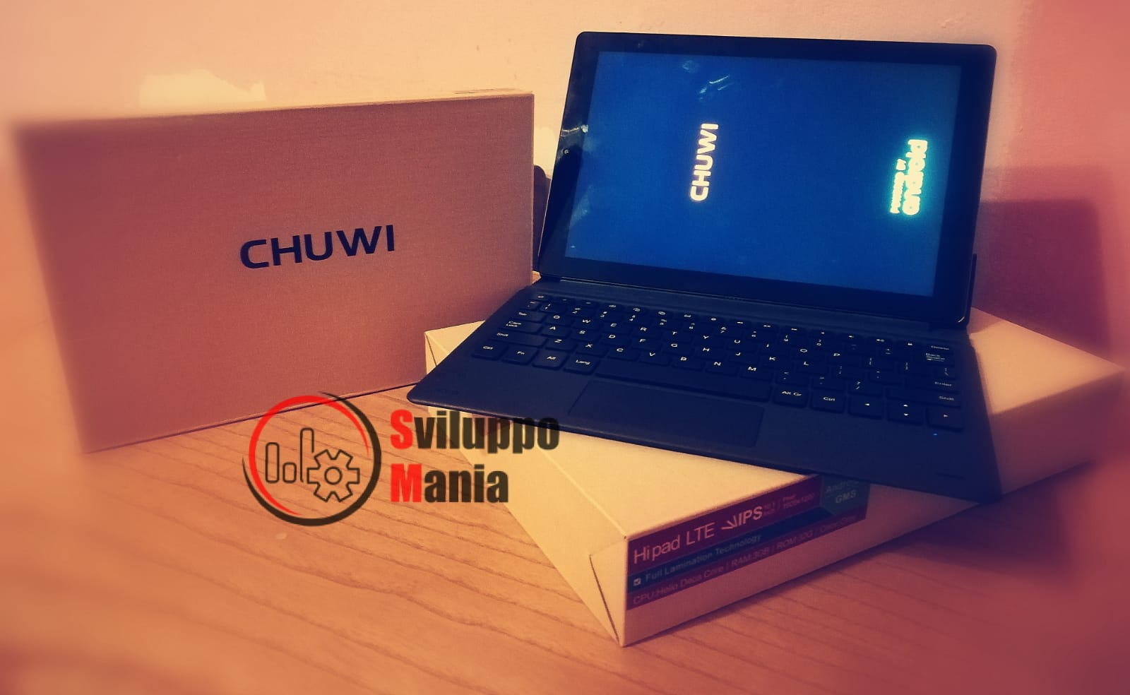Review of the Chuwi HiPad LTE or 4G Tablet