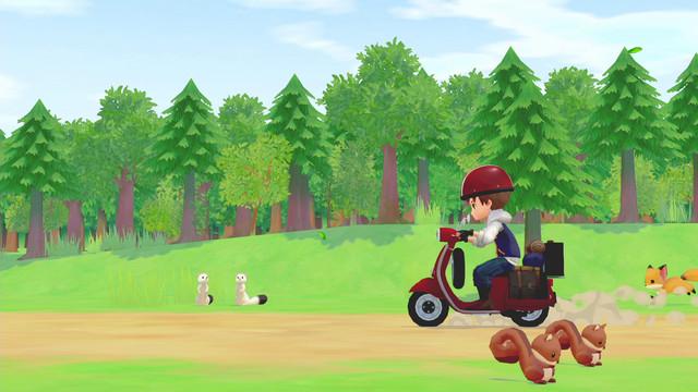 「牧場物語」系列首次在Nintendo Switch™平台推出全新製作的作品! 『牧場物語 橄欖鎮與希望的大地』 決定於2021年2月25日(四)發售! 003