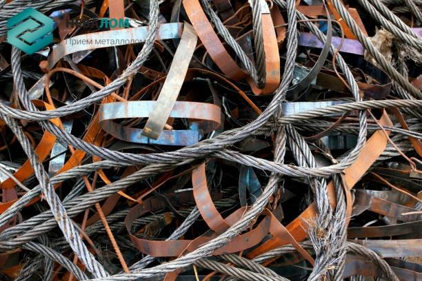 скупка стальных канатов и проволоки из черных металлов