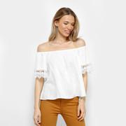 4a970aa2b9 Delírios Cotidianos  Dicas de moda e beleza   Look com blusas ombro ...