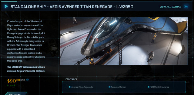 STANDALONE-SHIP-AEGIS-AVENGER-TITAN-RENEGADE-ILW2950