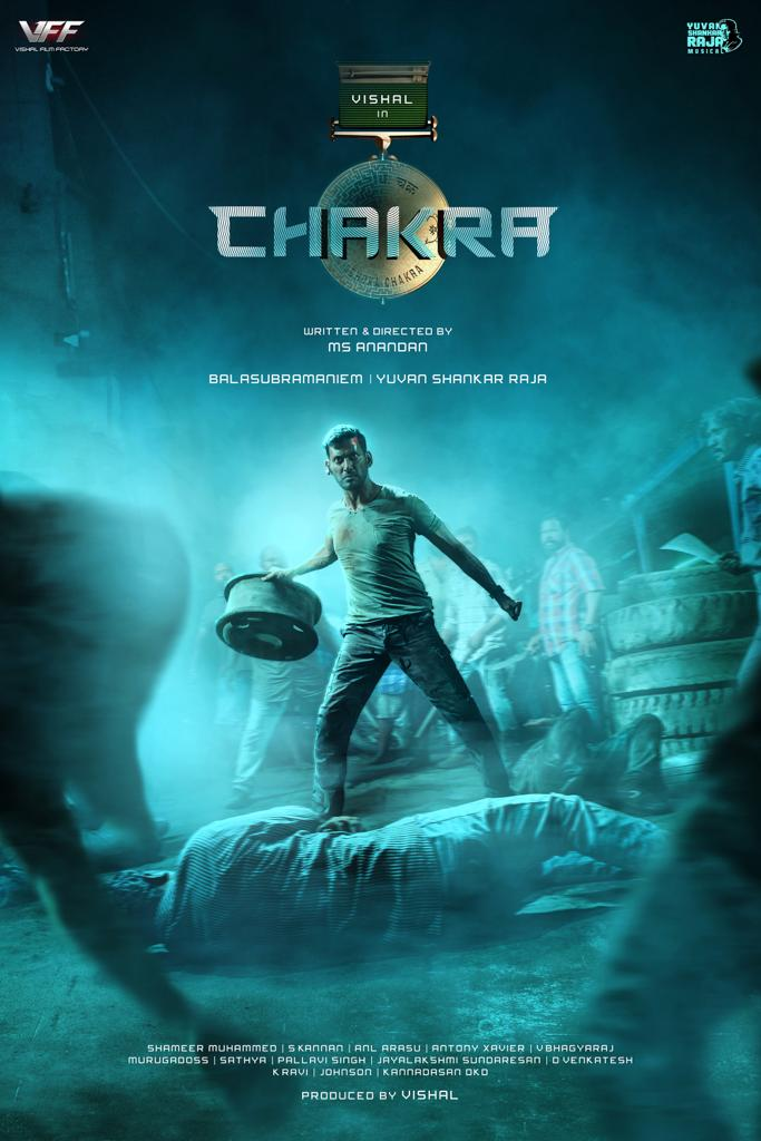 Chakra (2021) Hindi Dubbed 720p HDRip 900MB Download