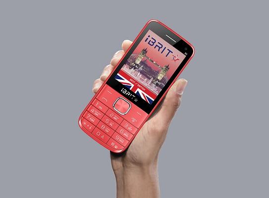 iBRIT BX Dual Sim, 32MB, 2G - Red