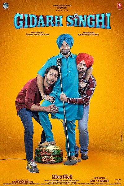 Gidarh Singhi (2019) Punjabi 720p HDRip x264 Esubs 500MB Download