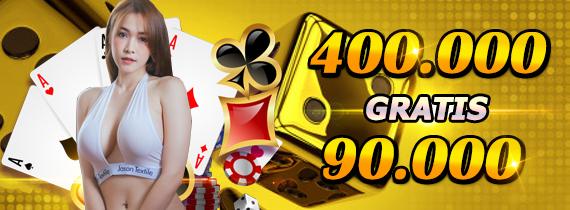 400.000 gratis 90.000 -TO x12