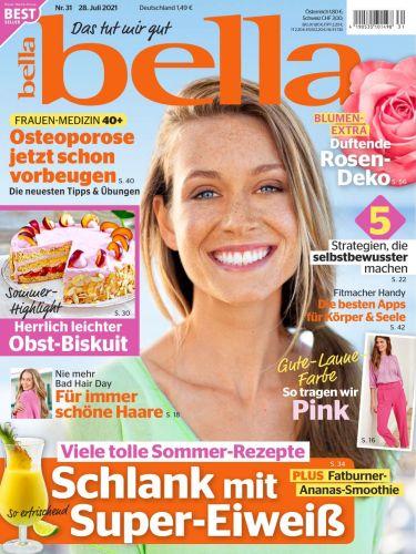 Cover: Bella Frauenmagazin No 31 vom 28  Juli 2021