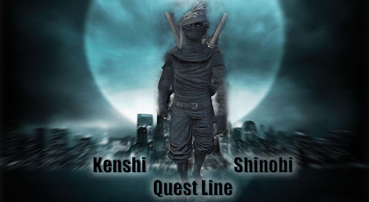 Shinobi Thieves Quest Line / Цепочка заданий: Воры шиноби!