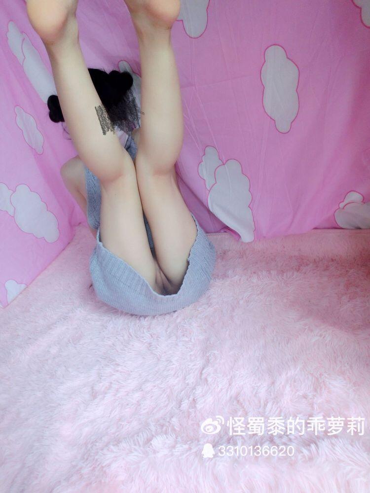 福利姬必备的童贞杀毛衣-怪蜀黍的乖萝莉自拍