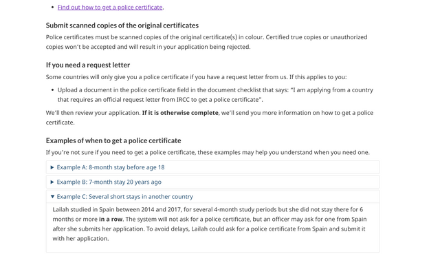 Police Check Certificate - Really need advice