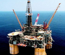 Image of oilrig