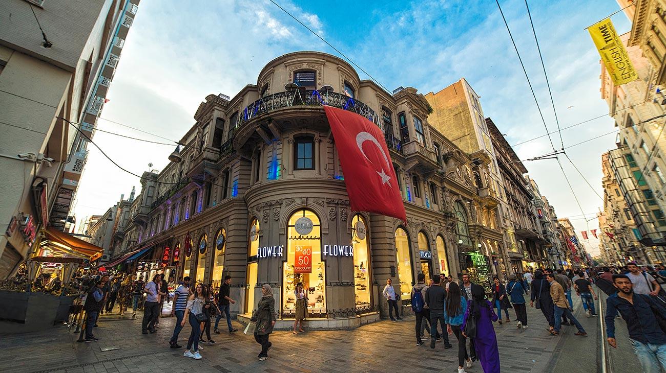 Istiklal-Avenue-Beyoglu