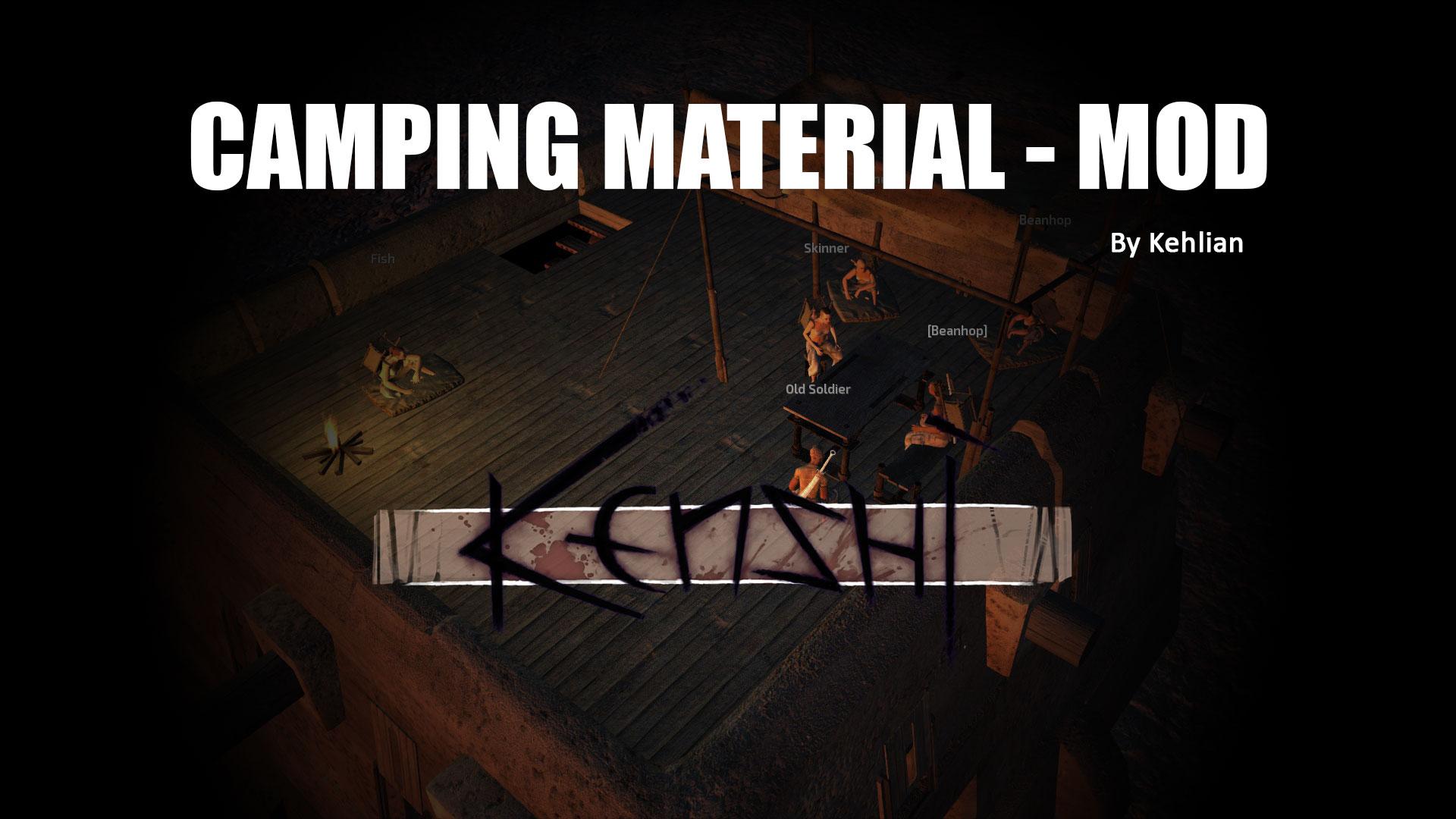 Camping Material / Материалы для Кемпинга