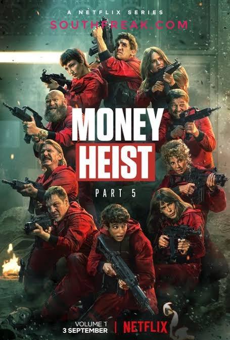 Money Heist La casa de papel NF Series Season 05 Complete 480p WEB-DL